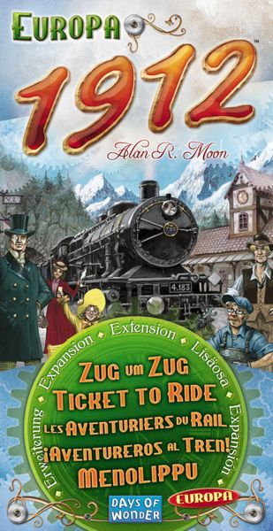 Ticket to Ride - Europe 1912