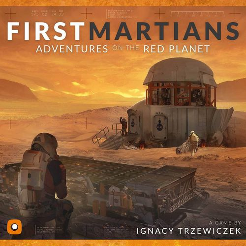 First Martians Adventures on the Red Planet