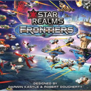 Stalo žaidimas Star Realms Frontiers