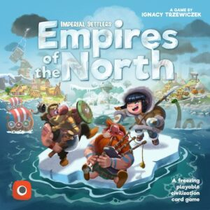 Stalo žaidimas Imperial Settlers Empires of the North