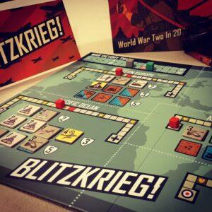 Stalo žaidimas Blitzkrieg!