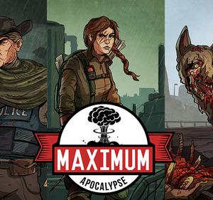 Stalo žaidimas Maximum Apocalypse
