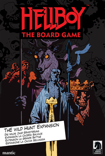 Hellboy The Board Game - The Wild Hunt