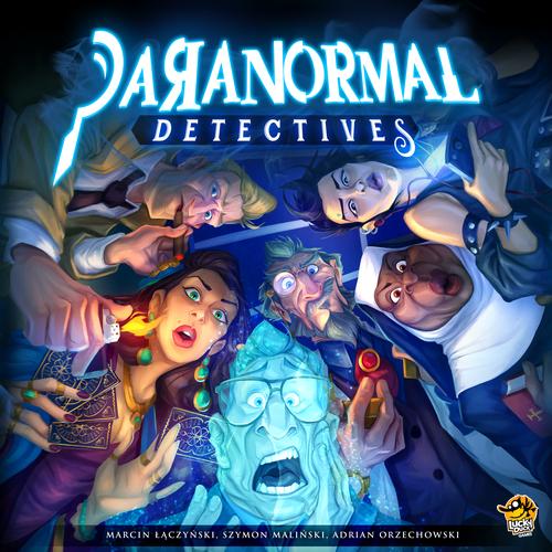 Stalo žaidimas Paranormal Detectives