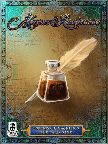 Stalo žaidimas Masters of Renaissance: Lorenzo Il Magnifico – The Card Game