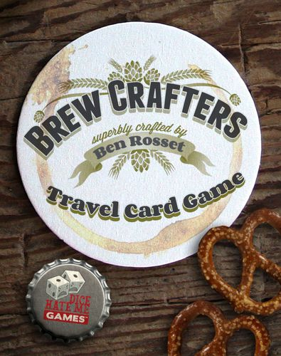 Stalo žaidimas Microbrewers The Brewcrafters Travel Card Game