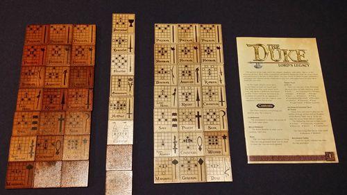 Stalo žaidimas The Duke Lords Edition