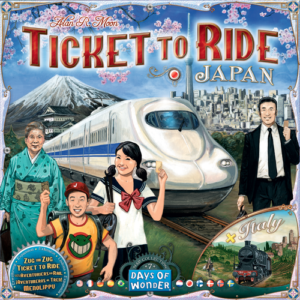 Stalo žaidimas Ticket to Ride - Japan & Italy