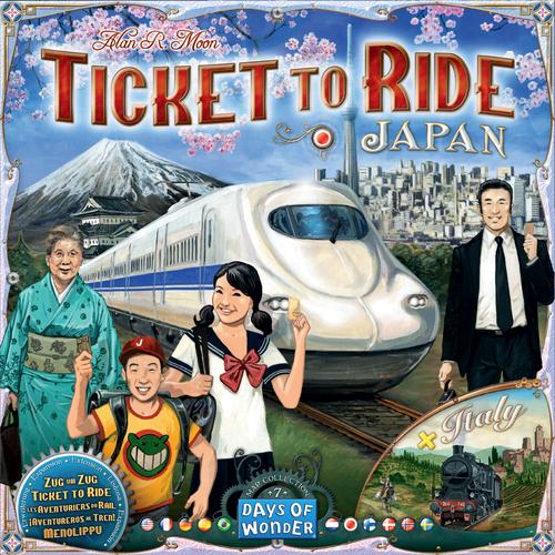 Stalo žaidimas Ticket to Ride - Japan & Italy