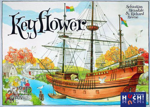 Stalo žaidimas Keyflower
