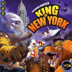 Stalo žaidimas King of New York