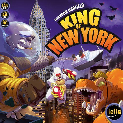 Stalo žaidimas King of New York