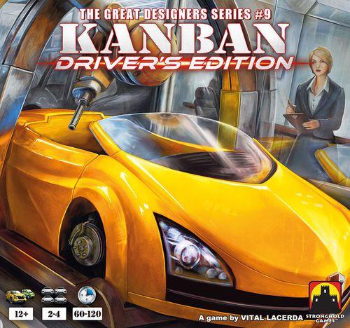 Stalo žaidimas Kanban Driver's Edition