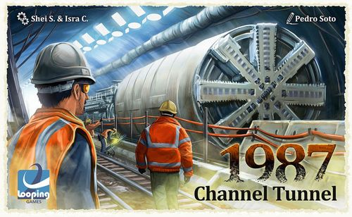 Stalo žaidimas 1987 Channel Tunnel