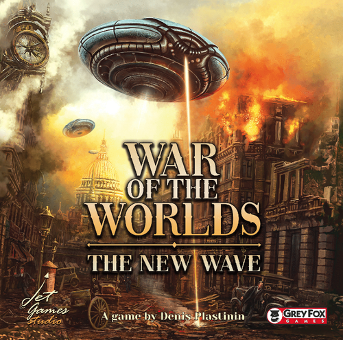 Stalo žaidimas War of the Worlds The New Wave