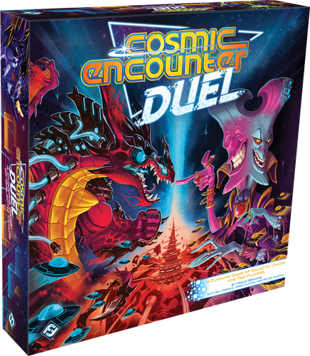 Stalo žaidimas Cosmic Encounter Duel
