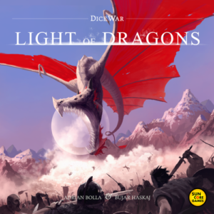 Stalo žaidimas DiceWar Light of the Dragons