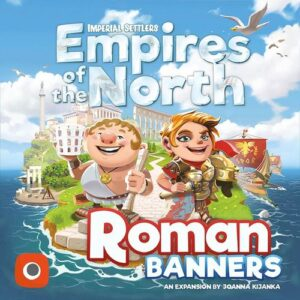 Stalo žaidimas Imperial Settlers Empires of the North - Roman Banners
