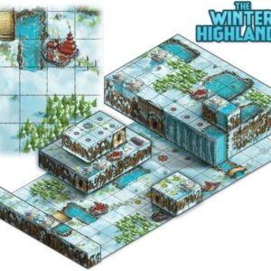 Stalo žaidimas Tiny Epic Tactics Maps Expansion