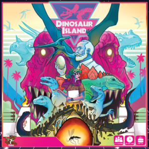 Stalo žaidimas Dinosaur Island