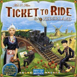 Stalo žaidimas Ticket to Ride - Ticket to Ride - Nederland