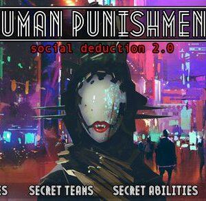 Stalo žaidimas Human Punishment: Social Deduction 2.0