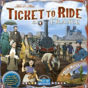 Stalo žaidimas Ticket to Ride - France & Old West