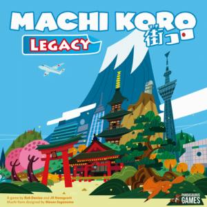 Stalo žaidimas Machi Koro - Legacy