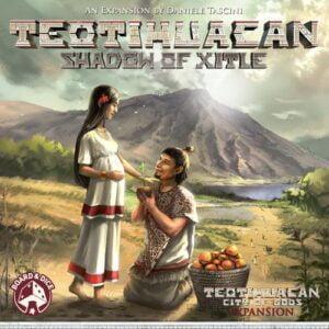Stalo žaidimas Teotihuacan Shadow of Xitle