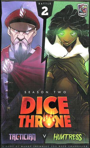 Stalo žaidimas Dice Throne: Season Two - Tactitian vs Huntress