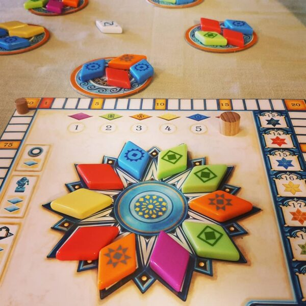 Stalo žaidimas Azul: Summer Pavilion