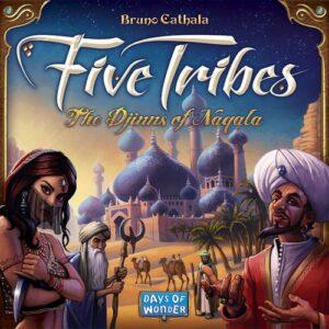 Stalo žaidimas Five Tribes