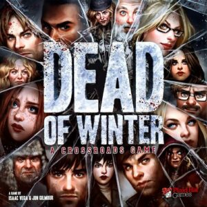 Stalo žaidimas Dead of Winter: A Crossroads Game