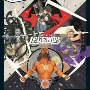 Stalo žaidimas Unmatched Battle Of Legends Vol. 1