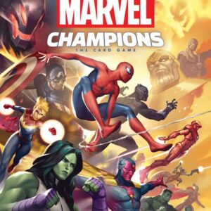 Stalo žaidimas Marvel Champions The Card Game