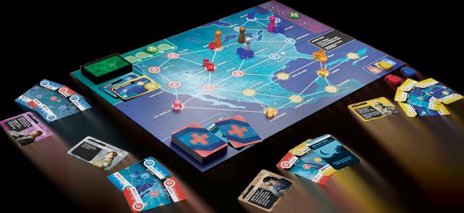 Stalo žaidimas Pandemic Hot Zone – North America