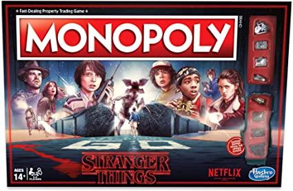 Stalo žaidimas Monopoly: Stranger Things