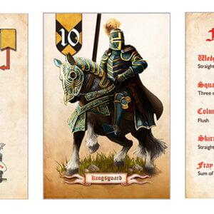 Stalo žaidimas Battle Line Medieval Edition