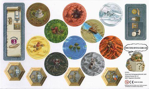 Stalo žaidimas Terra Mystica Mini-expansion (Erweiterungsbogen) (vokiečių kalba)