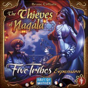 Stalo žaidimas Five Tribes - The Thieves of Naqala