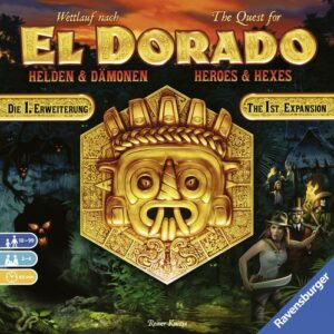 Stalo žaidimas The Quest for El Dorado Heroes & Hexes