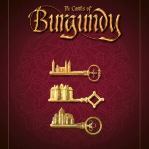 Stalo žaidimas The Castles of Burgundy (20th Anniversary)