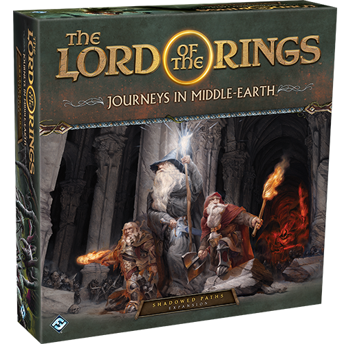 Stalo žaidimas The Lord of the Rings: Journeys in Middle Earth – Shadowed Paths