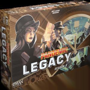 Stalo žaidimas Pandemic Legacy Season 0