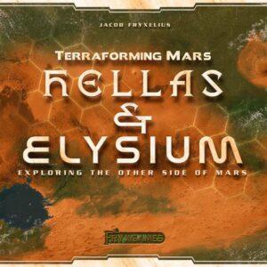 Stalo žaidimas Terraforming Mars: Hellas & Elysium