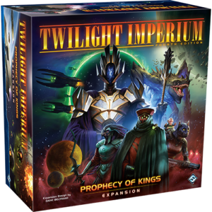Stalo žaidimas Twilight Imperium Prophecy of Kings Expansion