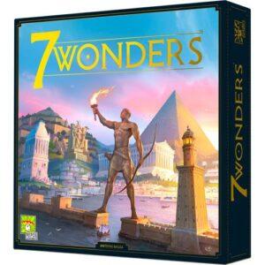 Stalo žaidimas 7 Wonders (Second Edition)