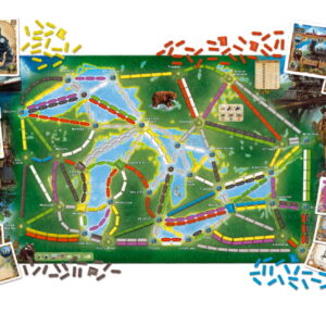 Stalo žaidimas Ticket to Ride - Rails & Sails