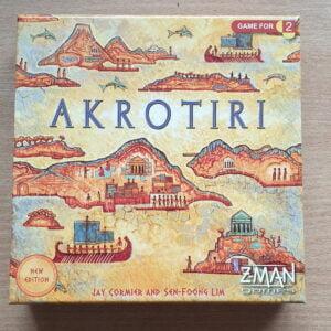Stalo žaidimas Akrotiri (Revised edition) (naudotas, kaip naujas)