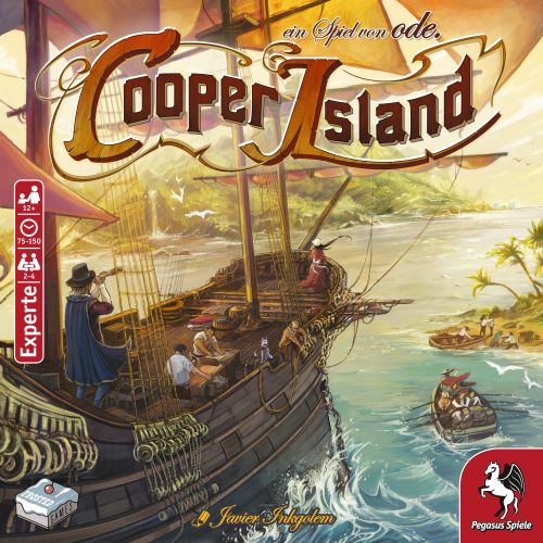 Stalo žaidimas Cooper Island